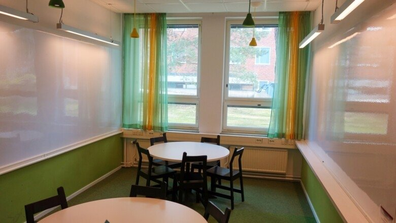 Study room 206 at Campus Solna
