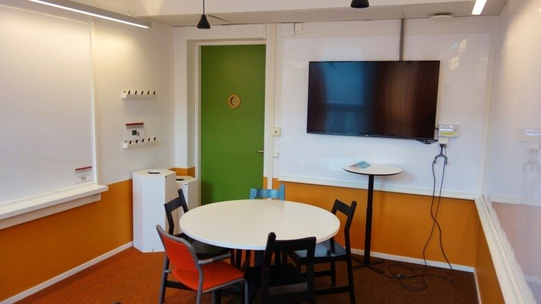 Study room 209 at Campus Solna